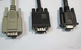 Sample 3 D-SUB Cable VGA, 1394 Cable