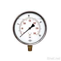 Pressione riempita liquido Gauge-03