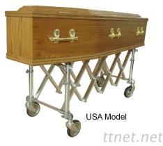 De Vrachtwagen van de kerk of het Model van de V.S. van het Dienblad