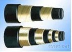 Tubo flessibile idraulico molto ad alta pressione di gomma dell'en 856 Ho4SP