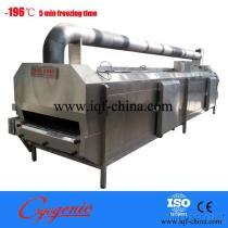 Het Bevriezen van het roestvrij staal IQF Machine