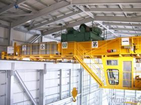 二重ガードの大きい容量50トン500トン頭上式EOTクレーン価格