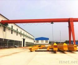 MH 5 Ton 10 Ton Single Girder Semi Gantry Cranes