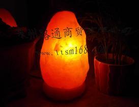 자연적인 소금 램프