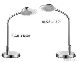 작은 책상용 램프