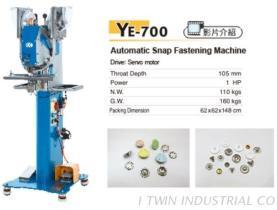 YE-700 Automatic Snap Fastening Machine