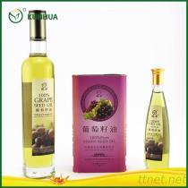 100%年のブドウの種油