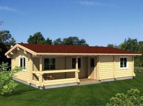 Eco-Friendly 나무로 되는 집
