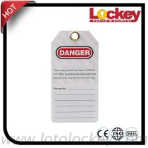 OEM Customized Safety Tags Plastic tag