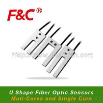 F&Cのフォークセンサー、Uの形繊維の光ファイバーセンサー