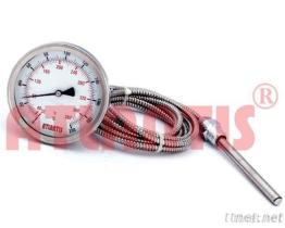 (Ebene Montage ohne Flansch-Art) Fernablesung-Thermometer