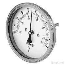 Bimetallischer Thermometer (rückseitige Einfassungs-Art) BTT