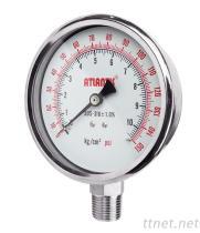 All Stainless Steel Pressure Gauge SUS
