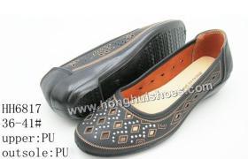 De schoenen van de injectiemamma's van Pu