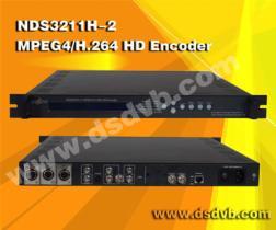 NDS3211Pの単一チャネルH.264/Mpeg-2 HDのエンコーダー(1080P)