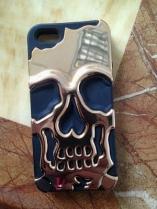 Het Geval van Cellphone van de schedel voor Iphon4, Iphone5, de Melkweg van Samsung S3, S4