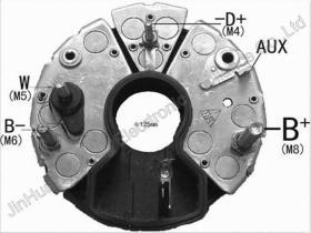 交流発電機の整流器