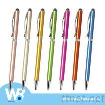 Metal Pen With Swarovski Sparkling Crystal Topper - 7 Designs