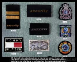 TPU Label Patches Shoulder Patches