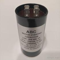 590-708 UF ABC motor beginnende condensator