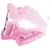 Butterfly Case Stationery Set