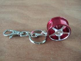 Car Tire Wheel Keyring
