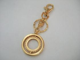 Twin Ring Keyring