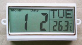 LCD 일 또는 날짜 단위