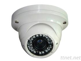アナログCCTVのドームのカメラ