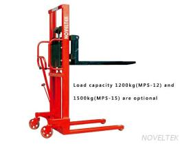 MPS-10/12/15/10W/12W/15WMamual Pallet Stacker(1 Ton/1.2 Tons/1.5 Tons)