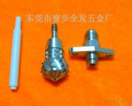 De Teflon van de Precisie van de douane, het Draaien van PTFE CNC de Pijp van Componenten