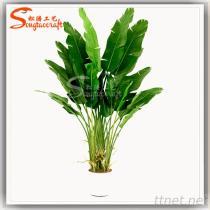 가정 훈장 플라스틱 바나나 식물 인공적인 바나나 식물