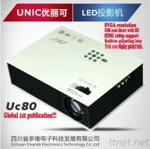 HD Projektor UC80, FABRIK-PREIS UND Soem UND ODM