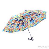 1 - آليّة يطوي مظلة