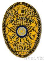 Geborduurde embleem-Politie