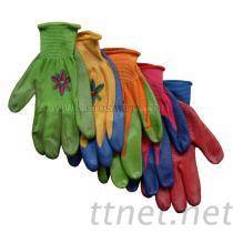 ニトリルの上塗を施してある手袋