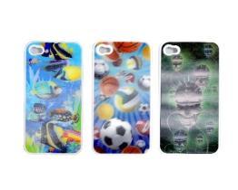 iPhone4 3D Geval van het Beeld