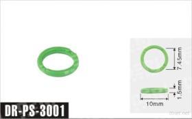 10X1.5X7.45Mm Plastic Pakking van 3001 de Auto van de Motor Delen van de Brandstofinjector