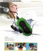 Waterproof MP3 Player With Clip