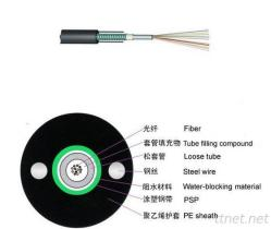 GYXTW Underground 12core Fiber Optic Cable