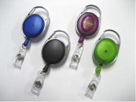 Transparent  Retractable Badge Reels