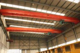 研修会の20T電気起重機の天井クレーン