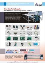 Drucker-Ersatzteile Roland-Mutoh Mimaki