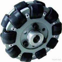 roda de alumínio dobro QL-10 de 101.6Mm Omni