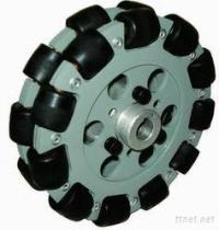 roda de alumínio dobro QL-13 de 127Mm Omni