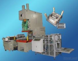 Macchina ad alta velocità del contenitore della lamina di alluminio