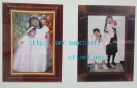 Magic Sticky Photo Frames