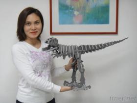 거품 중간 공룡 장비 나무로 되 같이 DIY 3D