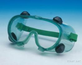 Safety Goggles With Valve Ventilation