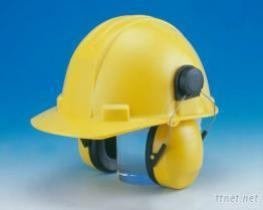 Helmet-Mounted Ear Muffs